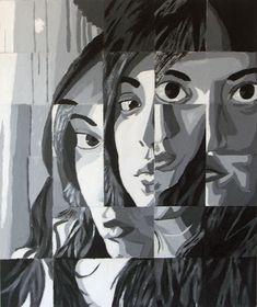 Fractured Portrait  http://studentwork.isabelmar.com/12/value.html
