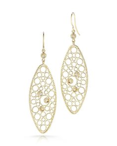Bollicine Diamond Oval Earrings - Roberto Coin