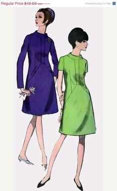 ON SALE Vintage 60s Vogue 6938 Madmen A Line Dress by sandritocat