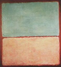 Mark Rothko No 9 1956 Blue Pink