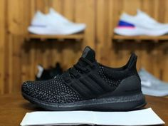 ce4c59baa8c Adidas Ultra Boost Clima Triple Black CQ0022 Mens Womens Running Shoes  Adidas Boost