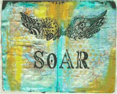 Soar Grunge Counted Cross Stitch Pattern, Instant Download PDF, Relaxing Hobby