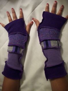 Armwarmers from Upcycled Sweaters