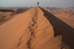 Walking in the Desert. (via Fotopedia)