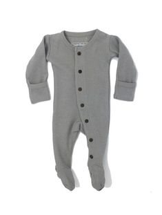 6ee74ca8e LOVED BABY ORGANIC THERMAL GLOVED-SLEEVE OVERALL Trendy Baby Boy Clothes,  Gender Neutral Baby
