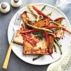Sheet pan tofu with sesame and vegetables - Chatelaine