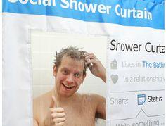 social_curtain_2 - A Facebook Shower Curtain for the Facebook Addict!! Lol