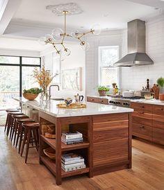 walnut+kitchen