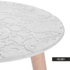 Stolik kawowy Marla średnica 40 cm - idealny dla osób ceniących sobie wygodę i funkcjonalność Furniture, Home Decor, Decoration Home, Room Decor, Home Furnishings, Arredamento, Interior Decorating