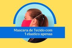 Mascará de Proteção 3d tecido com molde fácil! Bottle Top Crafts, Jean Apron, Mascara 3d, Diy Box, Diy Mask, Sewing Patterns, Facial, Projects To Try, Outfit