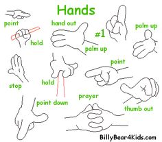 how to draw cartoon hands - Google Search