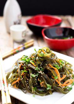 Chinese Seaweed Salad (Kombu) | Light Orange Bean