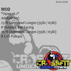 #wod #cftundertown #crossfit #workout #endurance #metabolic #conditioning #weightlifing #gymnastics #barbells #strength #skills #open2016 #16.1 #roguefitness #kingsbox #xeniosusa #supportyourlocalbox