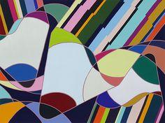 2014年度 多摩美術大学 テキスタイルデザイン専攻 現役合格者再現作品:色彩構成