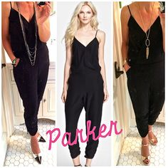 (BLOGPOST) Jumpsuits are trending big for Spring and today were are talking black sassy styles, how to wear them and get them at every price! Click on photo to link in to this weekends jumpsuit wrap up on www.AskSuzanneBell.com