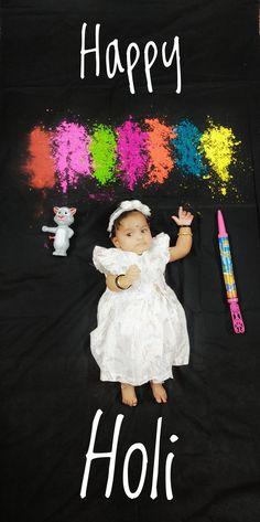 Newborn Photography Poses, Newborn Baby Photography, Photography Editing, Photography Backdrops, Newborn Pics, Newborn Pictures, Baby Girl Lehenga, Holi Theme, New Baby Pictures
