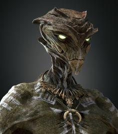 ArtStation - Alien Shaman, Adrien Lambert