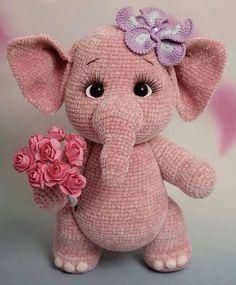 Crochet Animal Amigurumi, Crochet Amigurumi Free Patterns, Crochet Teddy, Crochet Animal Patterns, Crochet Bunny, Stuffed Animal Patterns, Cute Crochet, Crochet Animals, Crochet Crafts