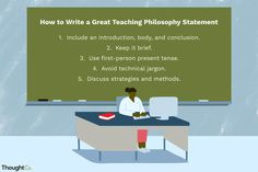 8 Best Teaching Philosophy Examples Images In 2018