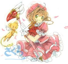 Sakura draw!