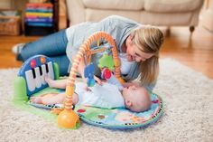 Fisher-Price Discover 'n Grow Kick and Play Piano Gym:Amazon:Baby
