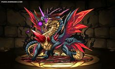 Chaos Devil Dragon stats, skills, evolution, location | Puzzle & Dragons Database