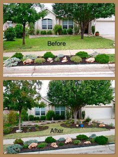 Xeriscape Plan from Central Texas Gardening Blog