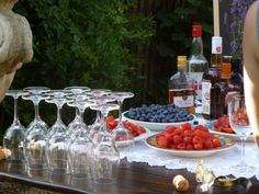 21st birthday party | summer cocktails | pimp your prosecco | party inspirations
