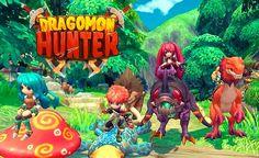 Dragomon Hunter se mantiene en el MMORPG de juegos de fantasía que gustará a los fans y a ti por la cooperación con los demás.