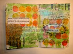 Sketchbook Project page #art #mixed_media