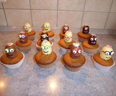 Minions Muffin mit weisser Schokolade von MaurosNeueKochwelt auf www.rezeptwelt.de, der Thermomix ® Community