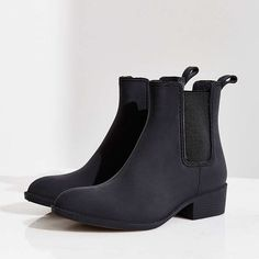 Jeffery Campbell rain boots Matte black rain boots by Jeffery Campbell ✨ size 8 but fits 7.5 better. Brand new in box. Perfect for rainy days Jeffrey Campbell Shoes Ankle Boots & Booties
