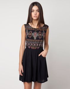 Bershka Thailand - BSK printed dress