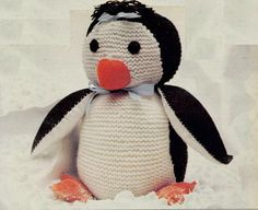 John Lewis Monty Knitting Pattern : Monty & Mabel the penguins on Pinterest Penguins, Pumpkin Carving Patte...