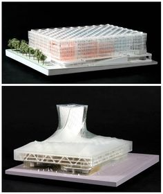 """arkitekcher: """"The National Library of the Czech Republic Future Systems Carmody Groarke HŠH Architects EMERGENT Tom Wiscombe John Reed Architecture Holzer Kobler. Future Systems, Bus Terminal, Arch Model, Concept Architecture, Projects, Architectural Models, Design, Study, Street"""