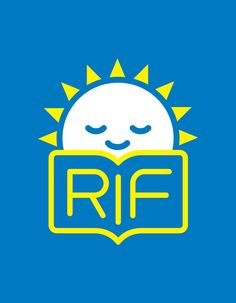 RIF (Reading Is Fundamental) by Christian Cervantes, via Behance