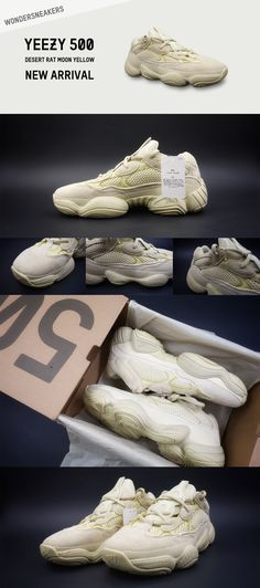 97e72ef60bed Best Quality UA Yeezy 500 Desert Rat Moon Yellow For Sale Online