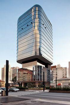 Edifício Santa Catarina | São Paulo, Brazil | Ruy Ohtake | photo by Pedro Kok