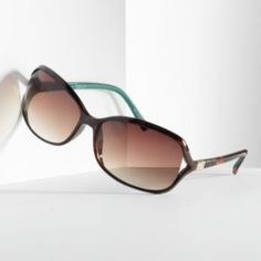 Simply Vera Vera Wang Rhinestone Vented Lens Rectangle Sunglasses - Women