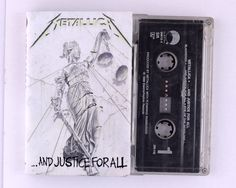 Metallica - And Justice For All Cassette Tape by JeepsterVintage on Etsy