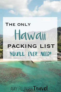 This is the only Hawaii packing list you'll ever need! Find out what to pack for Hawaii, what to leave behind, and so much more. Hawaii Vacation Tips, Hawaii Travel Guide, Trip To Maui, Maui Travel, Hawaii Honeymoon, Travel Tips, Travel Hacks, Travel Essentials, Vacation Travel