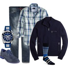 """""""Men's Spring Outfit"""" by beng-gallo on Polyvore"""