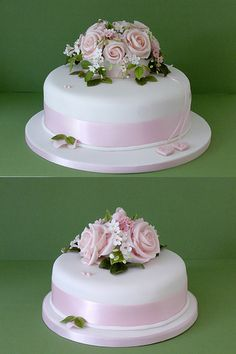cool Pink and White Wedding Cake by http://epic4wedding.gdn/index.php/2017/02/12/pink-and-white-wedding-cake/