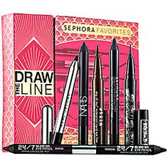 I can't wait to start testing out on the Eyeliners!!!!  Sephora Favorites - Draw The Line  #sephora