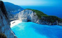 Bahía de Navagio, Grecia.