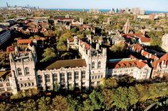 UChicago campus from above