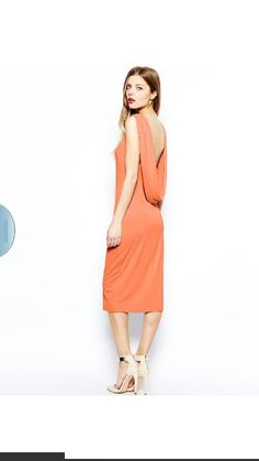 ASOS mid dress