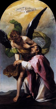 Saint Raphael The Archangel and Tobias.