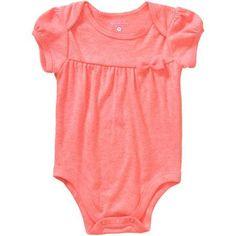 Garanimals Newborn Baby Girl Pointelle Bodysuit - Walmart.com