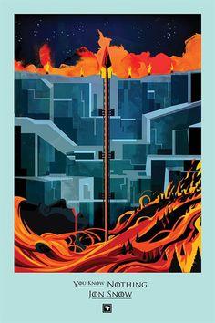 'The Watchers on the Wall' (4x09)  Víctimas: Guardias de la Noche y salvajes de más allá del Muro.